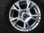 "2012 FORD B-MAX TDCI GENUINE OEM 5 TWIN SPOKE 15"" ALLOY WHEEL SILVER HL3DDASB"
